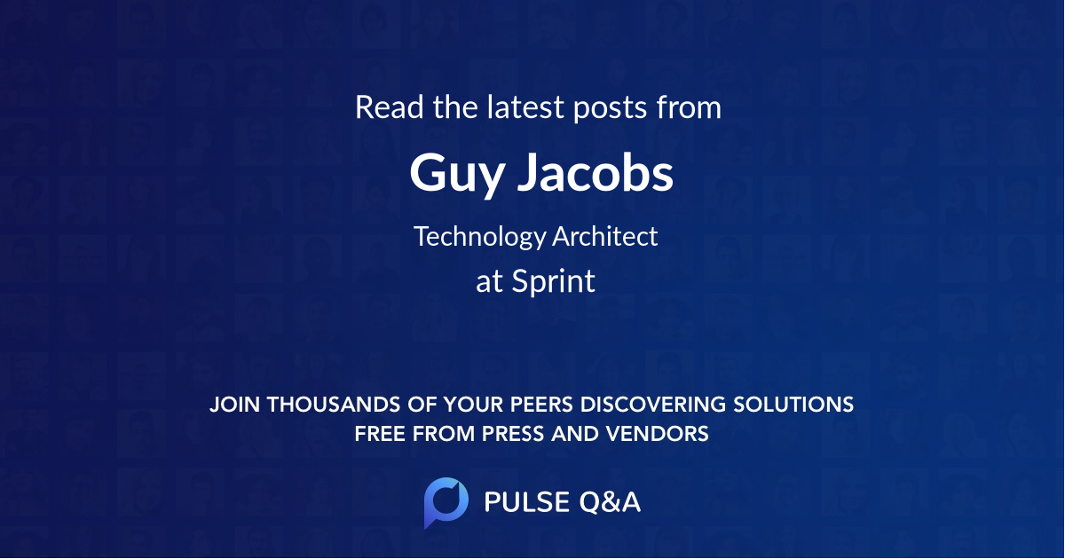Guy Jacobs
