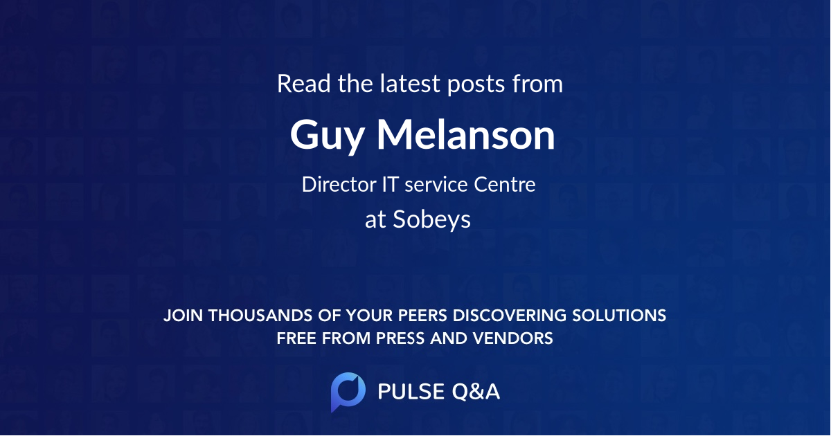 Guy Melanson