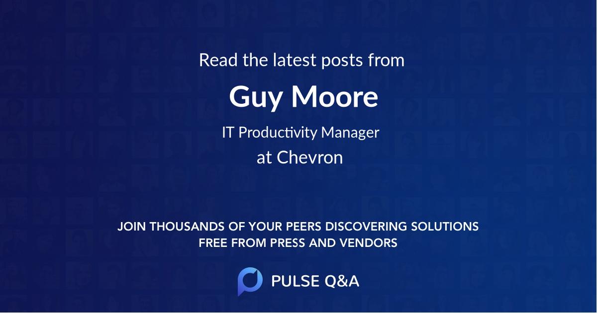 Guy Moore