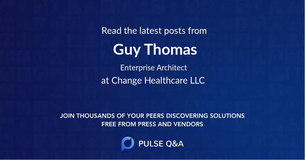 Guy Thomas