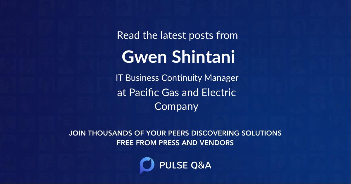 Gwen Shintani