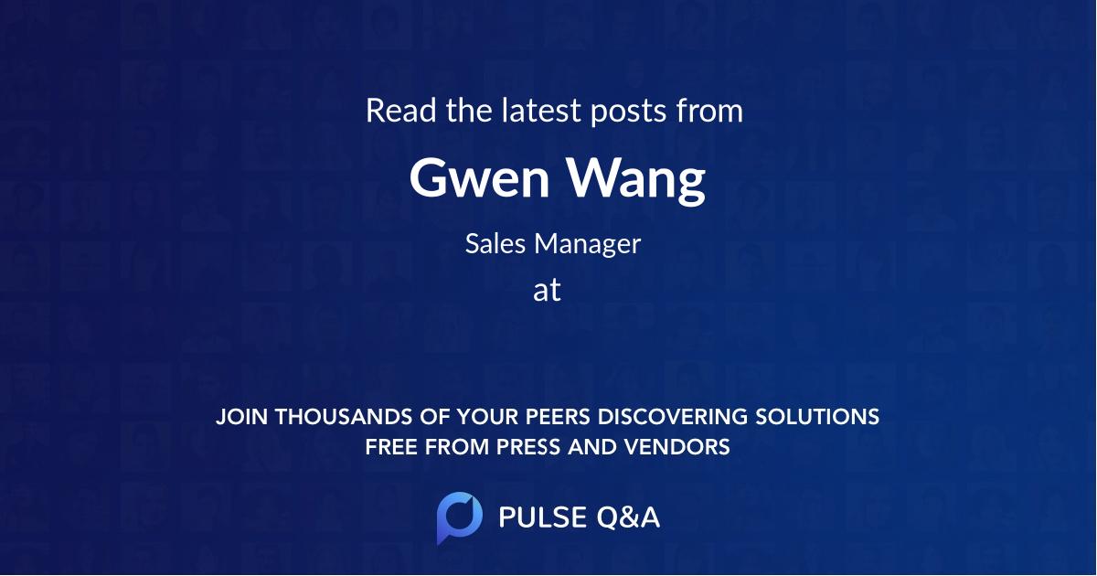 Gwen Wang