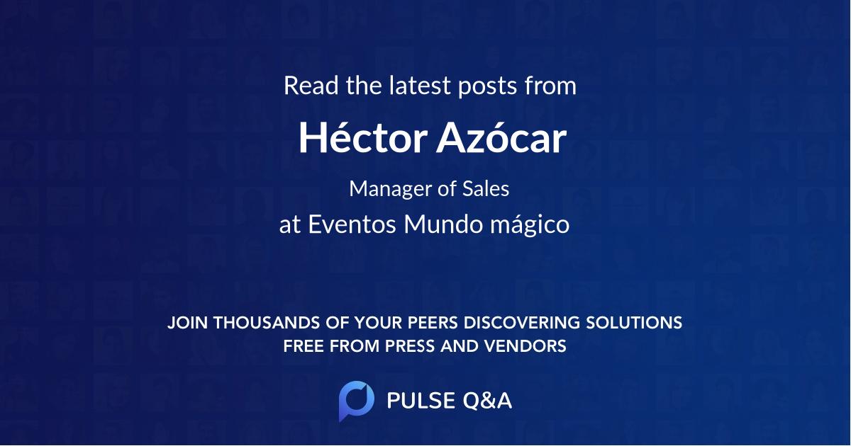 Héctor Azócar
