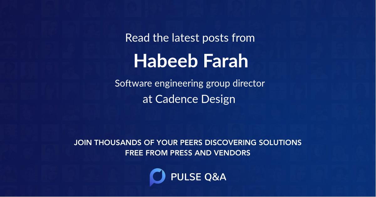Habeeb Farah
