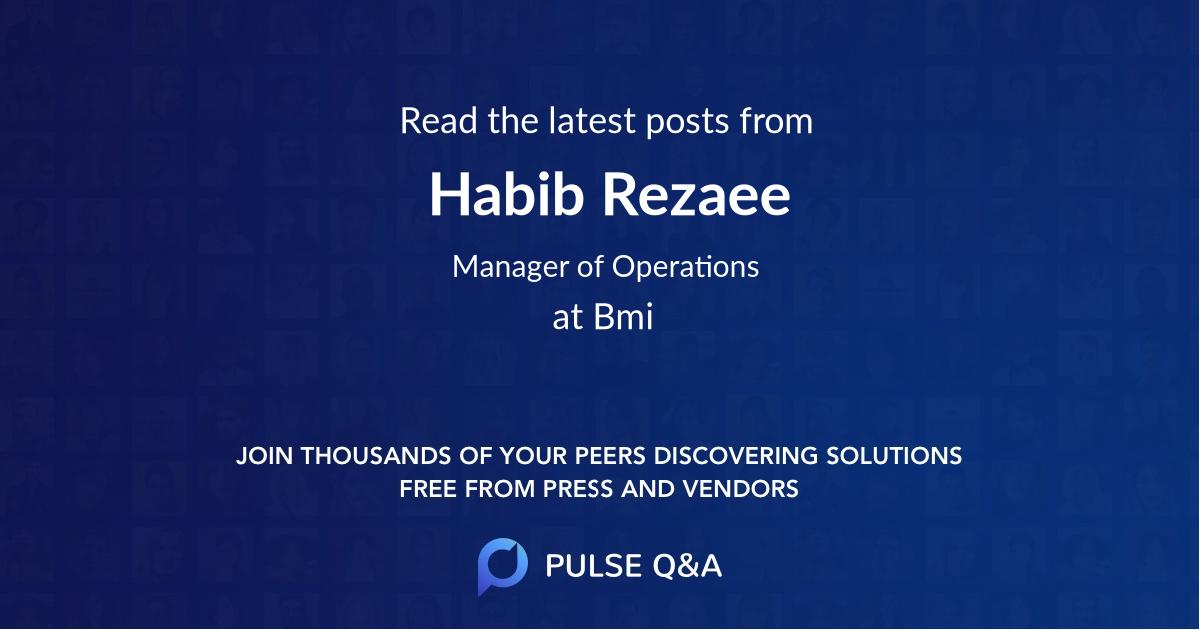 Habib Rezaee