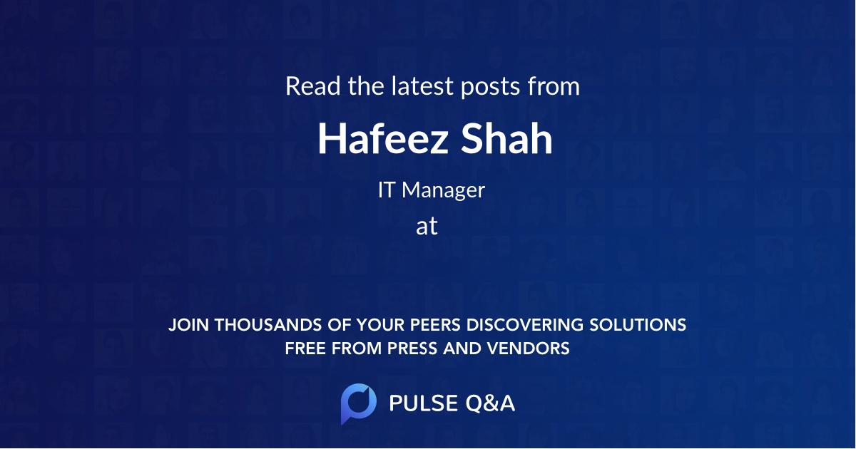 Hafeez Shah