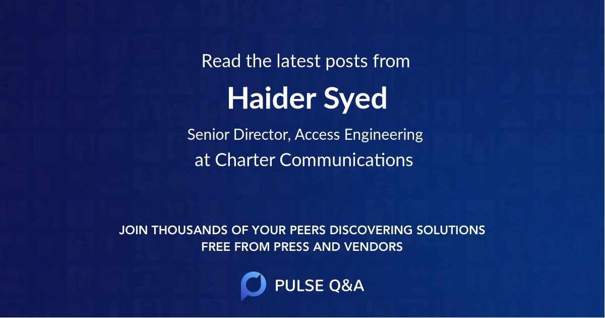 Haider Syed