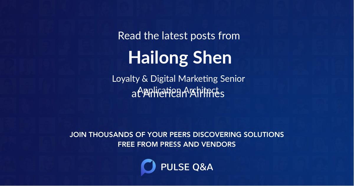 Hailong Shen