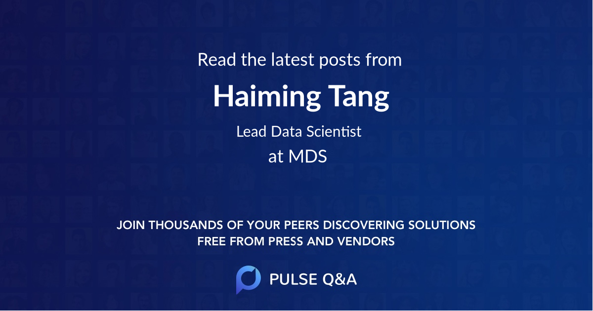 Haiming Tang