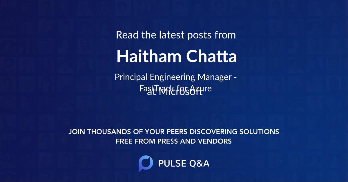 Haitham Chatta