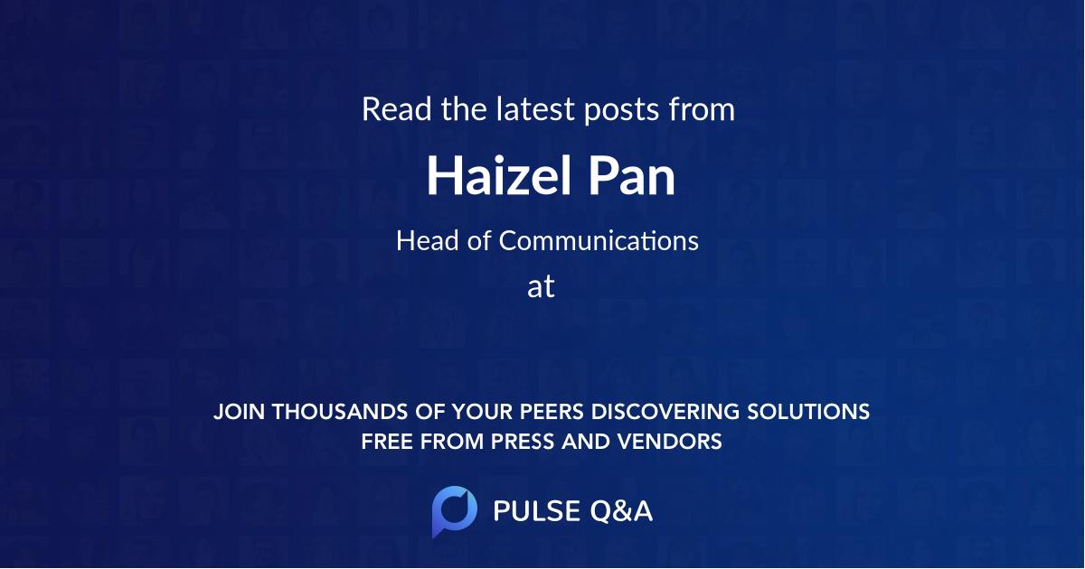 Haizel Pan