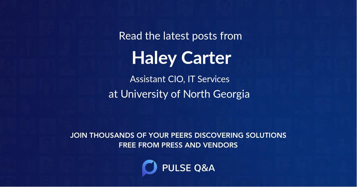 Haley Carter
