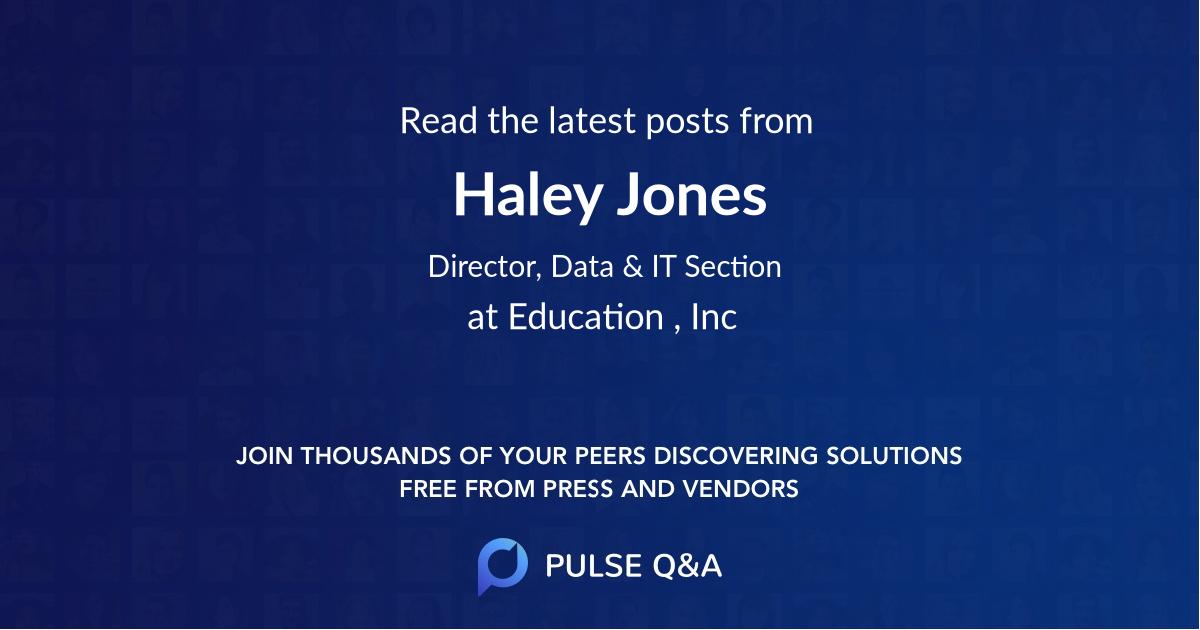 Haley Jones