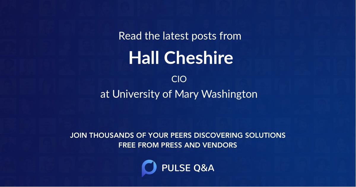 Hall Cheshire
