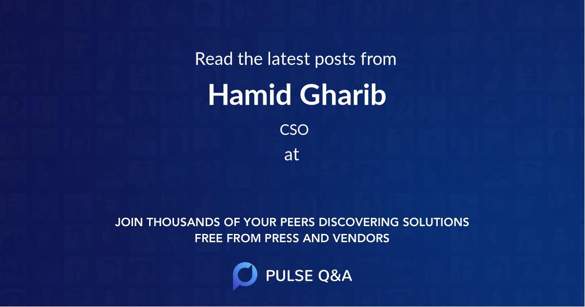 Hamid Gharib