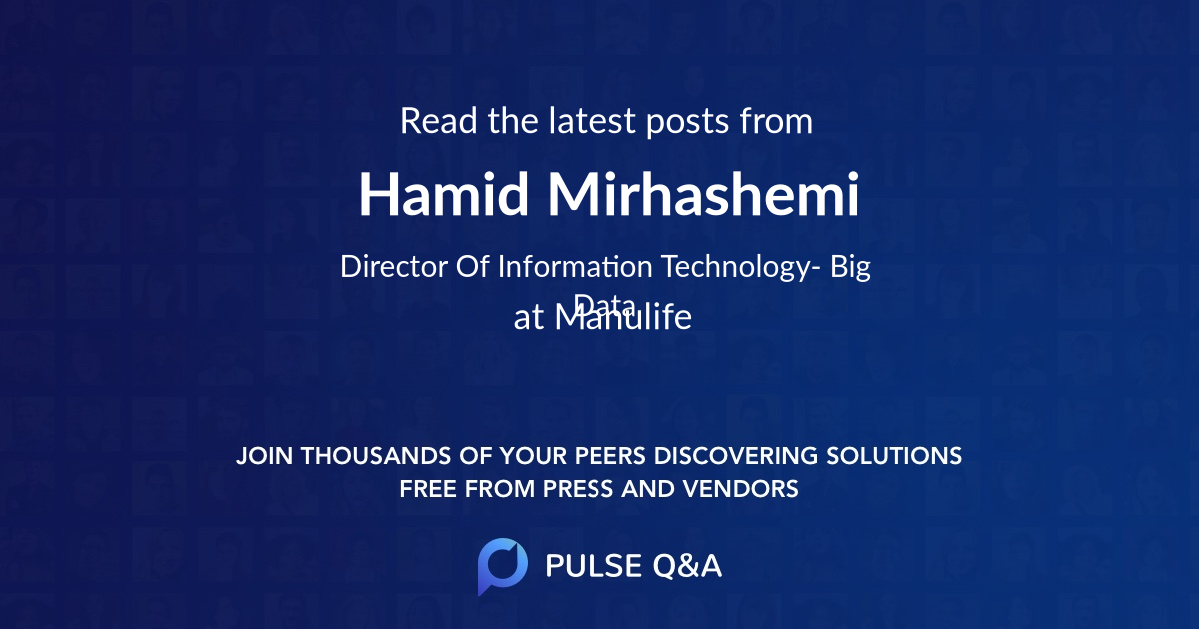 Hamid Mirhashemi