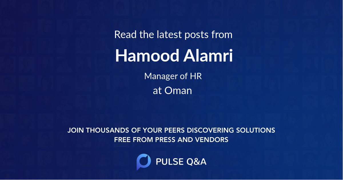 Hamood Alamri
