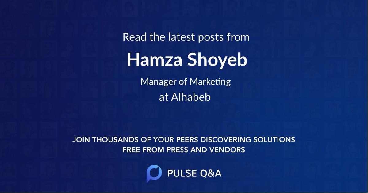 Hamza Shoyeb