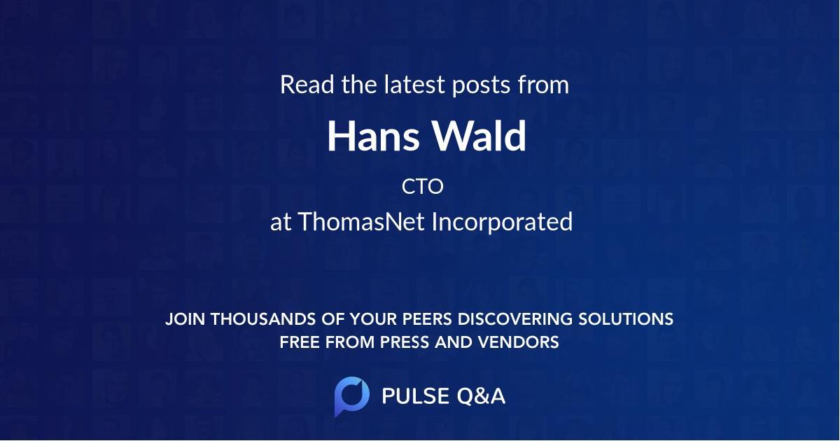 Hans Wald