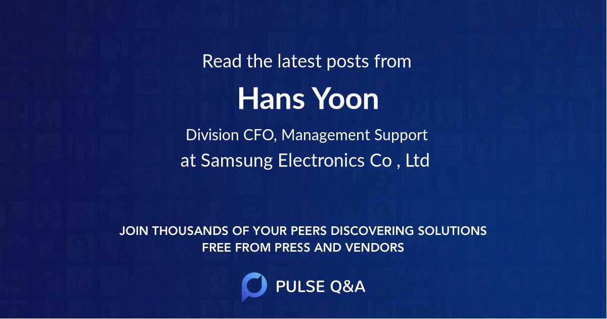 Hans Yoon