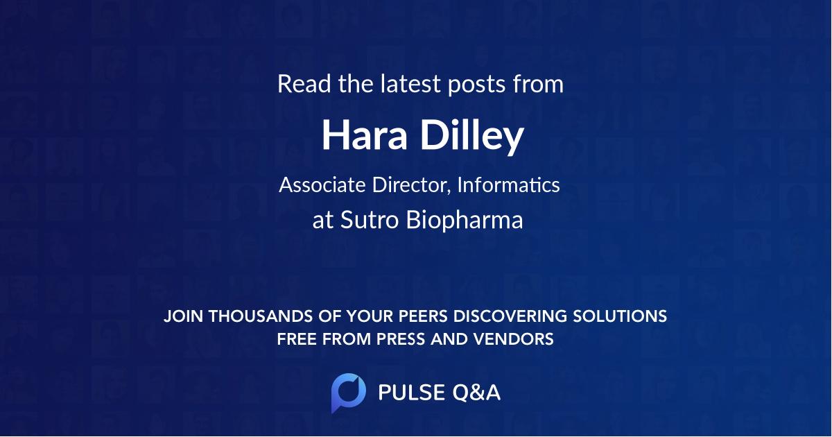 Hara Dilley
