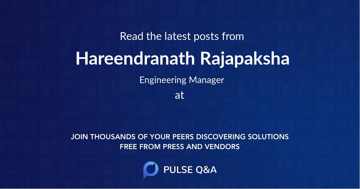 Hareendranath Rajapaksha