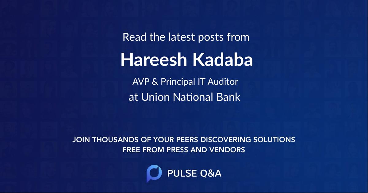 Hareesh Kadaba
