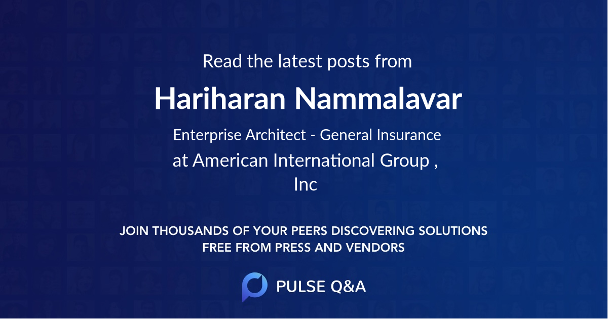 Hariharan Nammalavar
