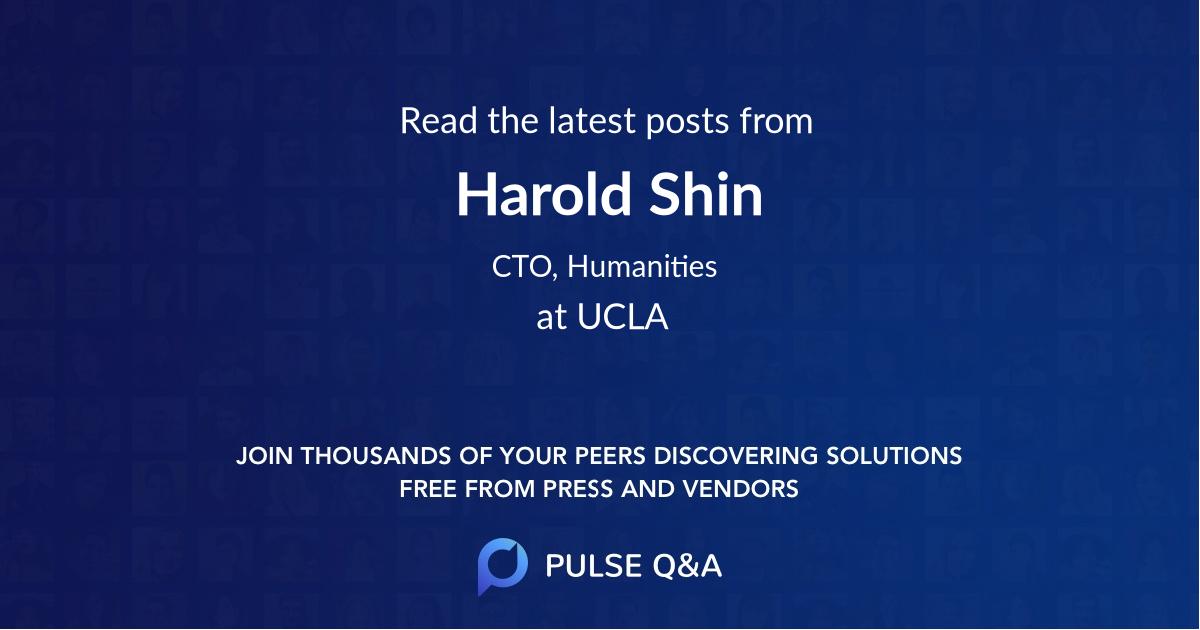 Harold Shin