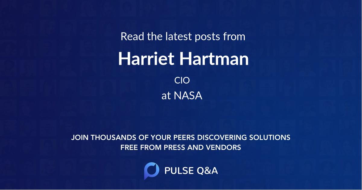 Harriet Hartman