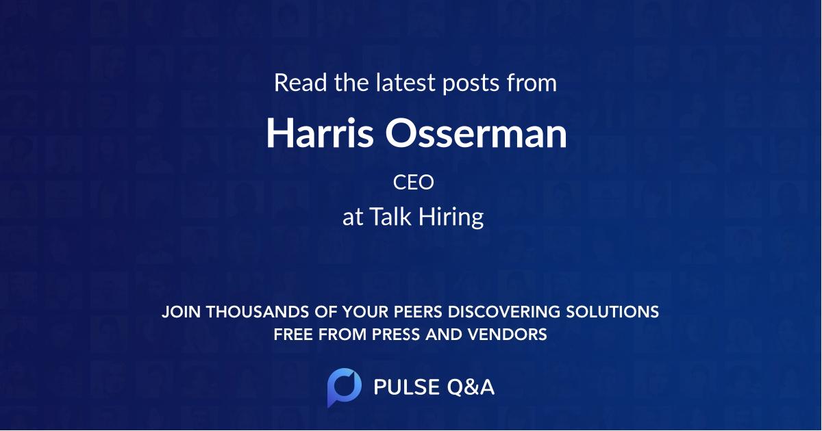 Harris Osserman