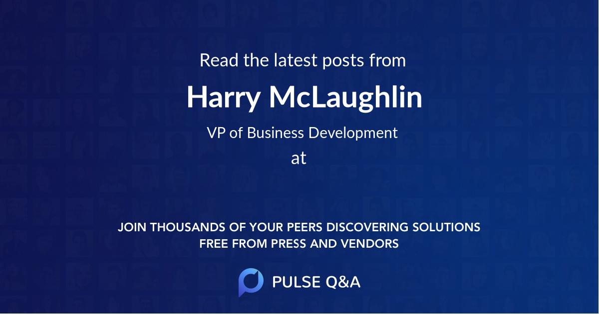 Harry McLaughlin