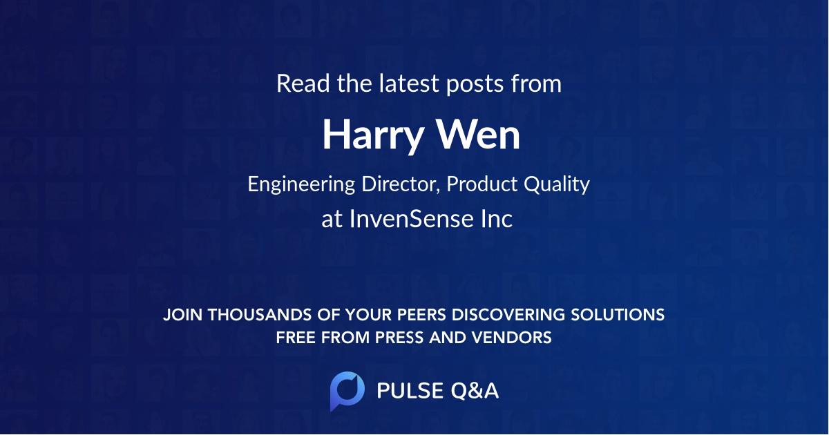 Harry Wen
