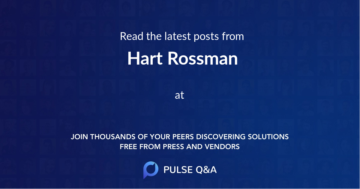 Hart Rossman