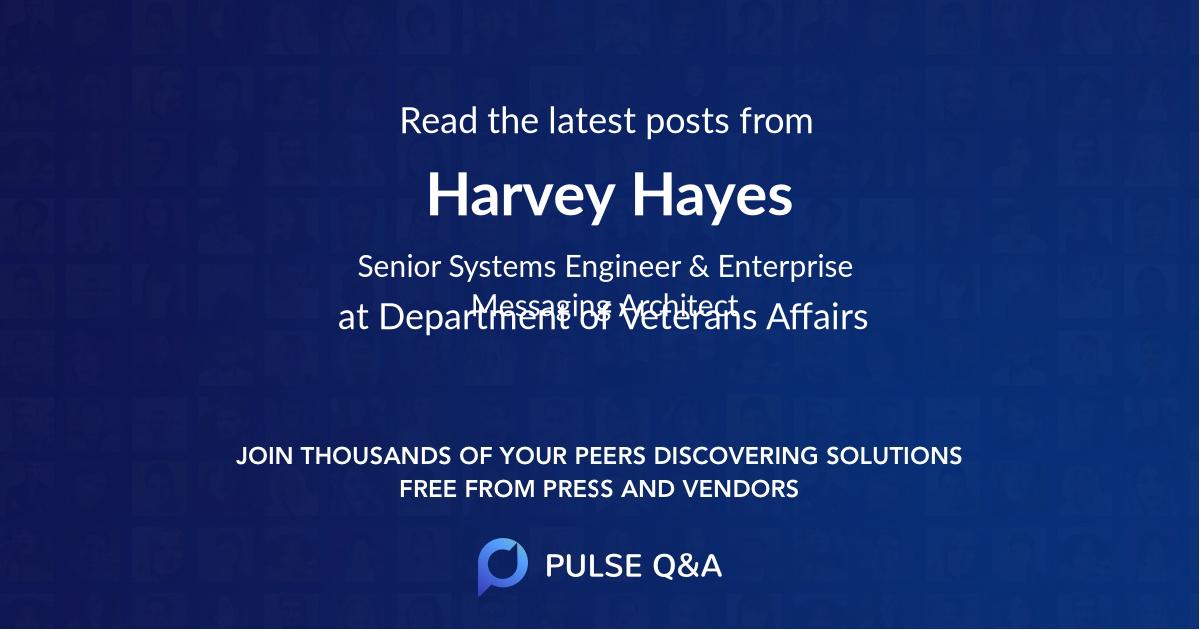 Harvey Hayes