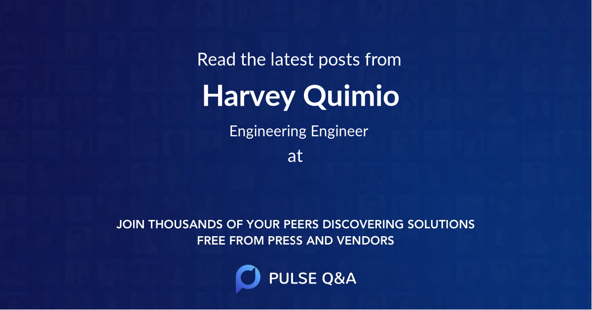 Harvey Quimio