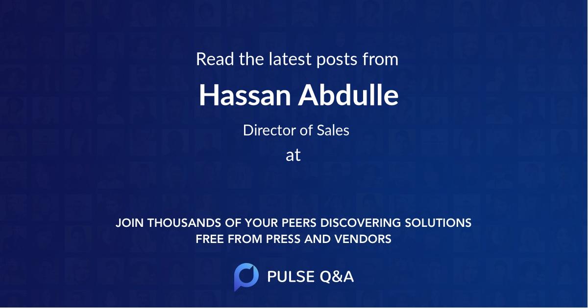Hassan Abdulle