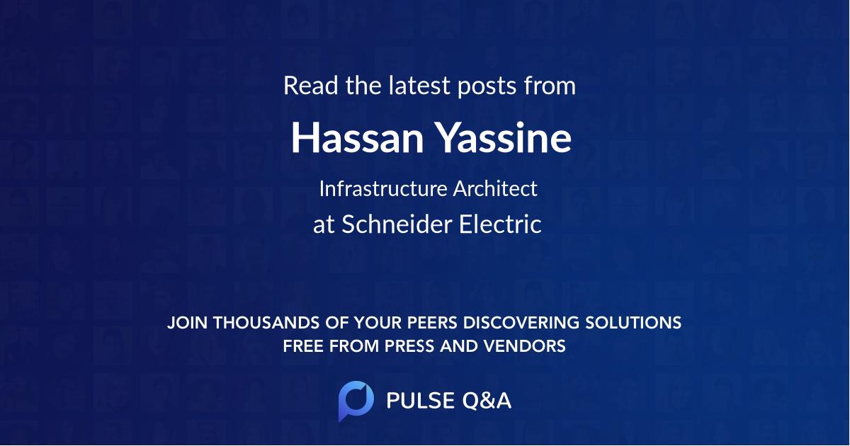 Hassan Yassine