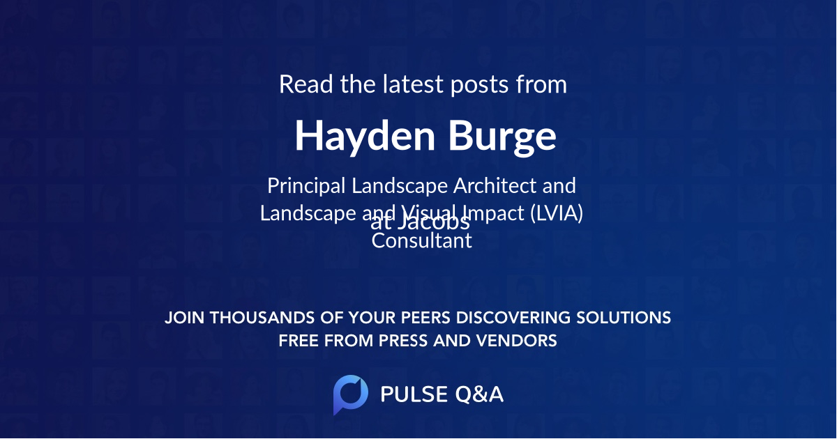 Hayden Burge