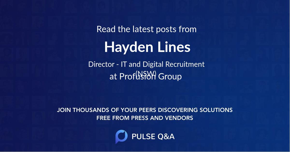 Hayden Lines