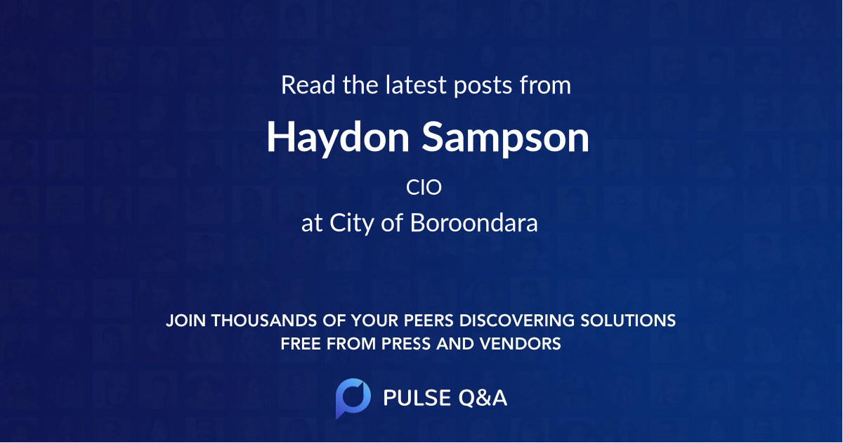 Haydon Sampson