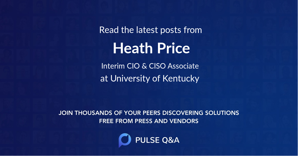 Heath Price