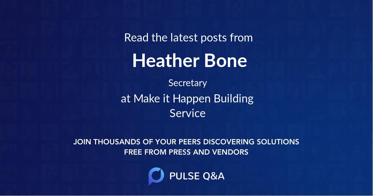 Heather Bone