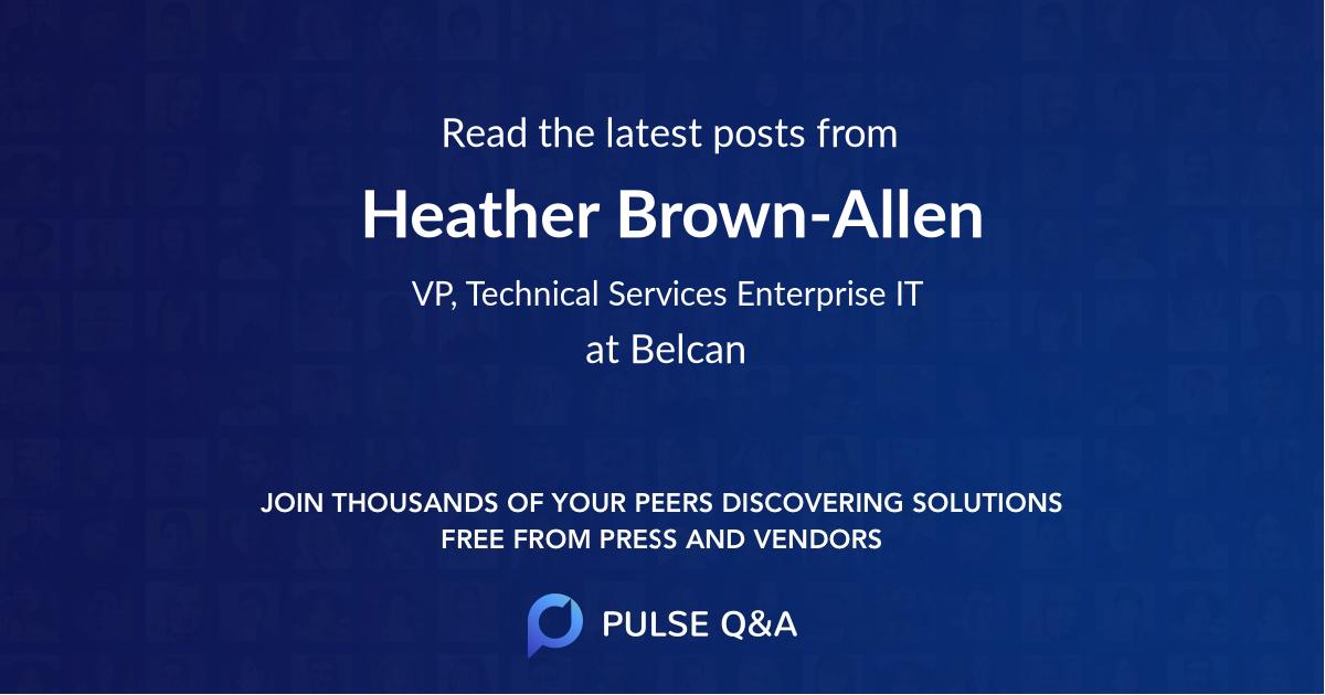 Heather Brown-Allen