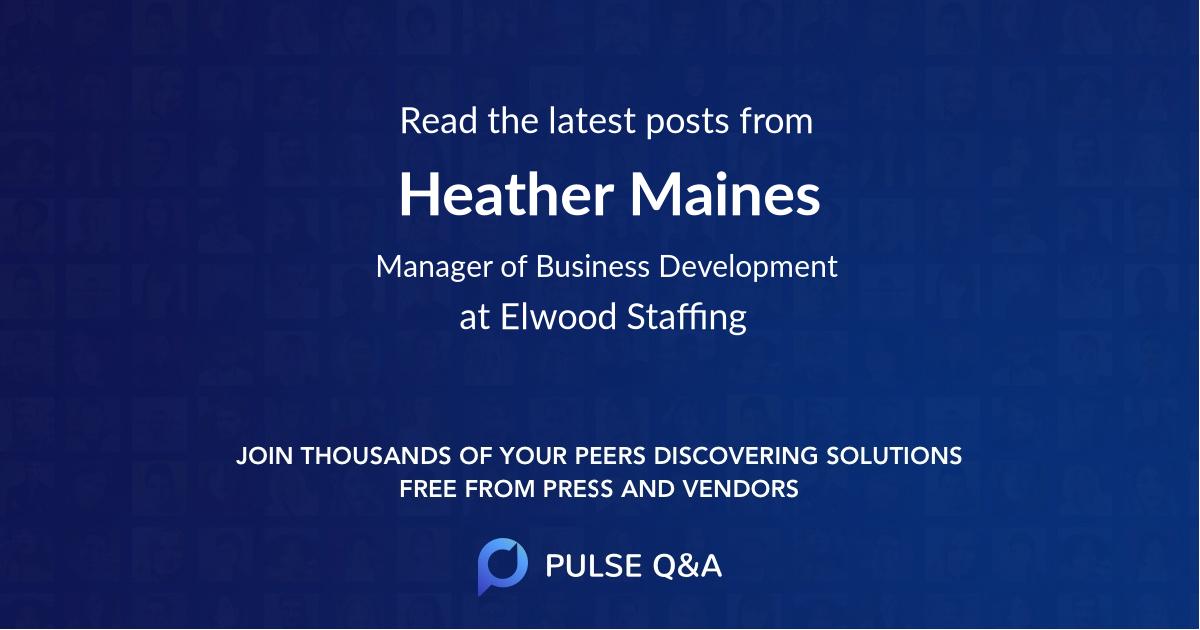 Heather Maines