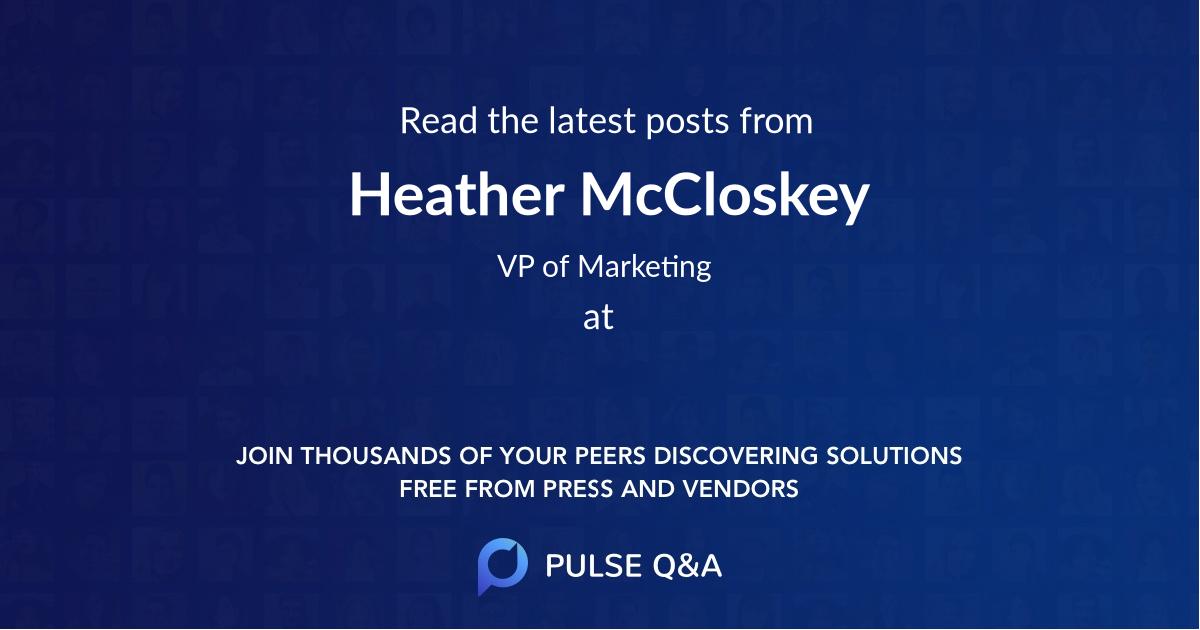 Heather McCloskey