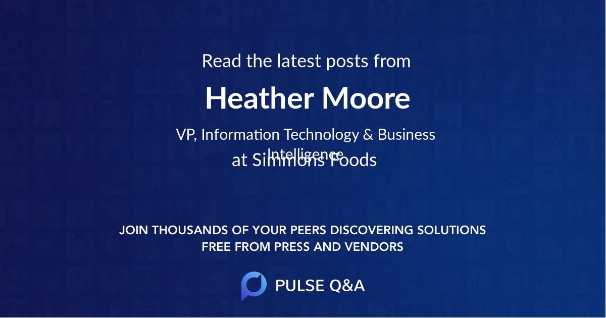 Heather Moore