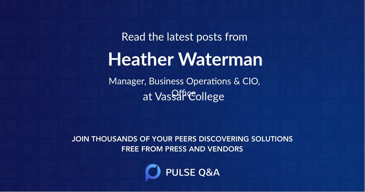 Heather Waterman
