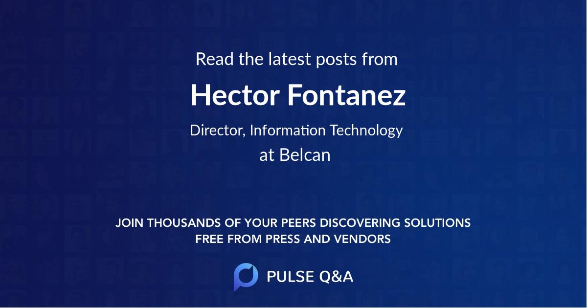 Hector Fontanez