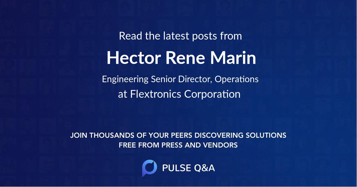 Hector Rene Marin